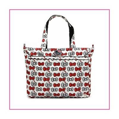 Ju-Ju-Be Hello Kitty Collection Super Be Zippered Tote Diaper Bag, Peek A Bow並行輸入品