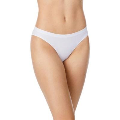 オンゴサマー OnGossamer レディース ショーツのみ インナー・下着 Cabana Cotton Seamless Bikini White