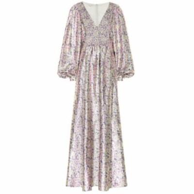 ステラ マッカートニー Stella McCartney レディース パーティードレス ワンピース・ドレス Floral silk-blend dress multi lilac