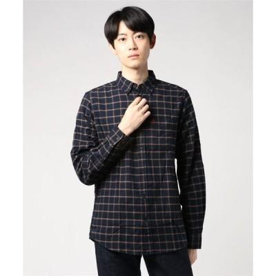 シャツ ブラウス ovik Flannel Shirt M (FJALLRAVEN/フェールラーベン)