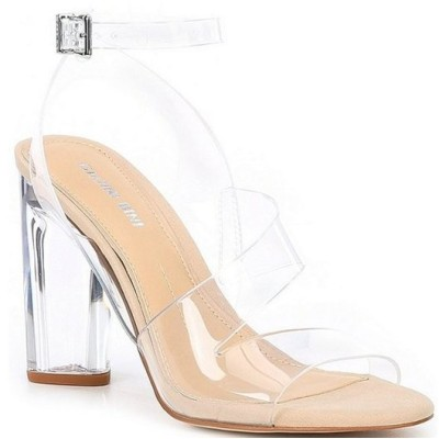 ジャンビニ レディース サンダル シューズ Ahrley Clear Strappy Sandals