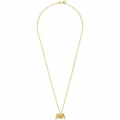 アンダーカバー Undercover メンズ ネックレス ジュエリー・アクセサリー Gold Bat Necklace Gold