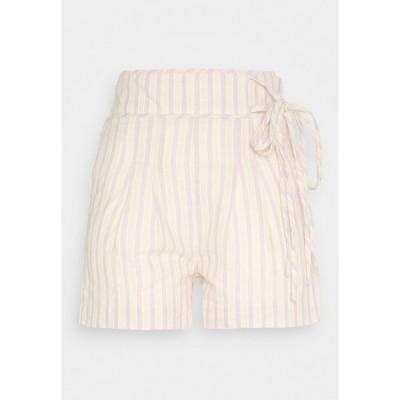 ロストインク カジュアルパンツ レディース ボトムス STRIPE TIE SIDE - Shorts - multi-coloured