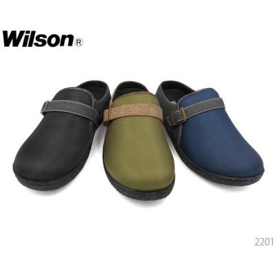 ウィルソン Wilson 2201 メンズ サンダル クロッグサンダル 靴