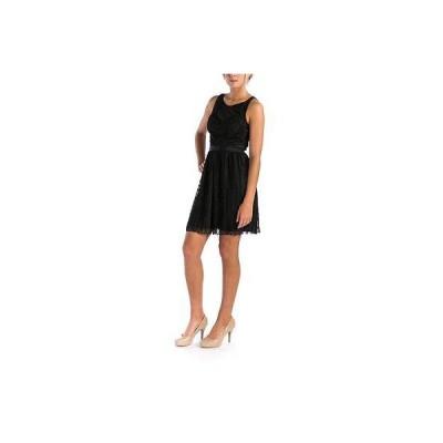 ゲス ドレス ワンピース Guess 3826 レディース ブラック Lace Cut-Out Party Cocktail ドレス 2 BHFO