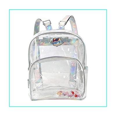 【新品】Jesdo Holographic Clear Backpack for School, Security, Stadiums(並行輸入品)