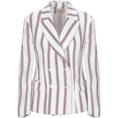 KAOS JEANS テーラードジャケット ホワイト 40 レーヨン 77% / ポリエステル 23% テーラードジャケット