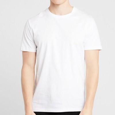 ピアワン メンズ ファッション 5 PACK - Basic T-shirt - white