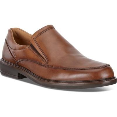 エコー ECCO メンズ スリッポン・フラット シューズ・靴 Holton Slip-On Amber Leather