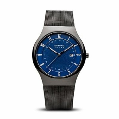 Bering Time 14640???227メンズソーラーコレクションWatch withステンレススチールStrap and Scratch Resistentサファイアク?
