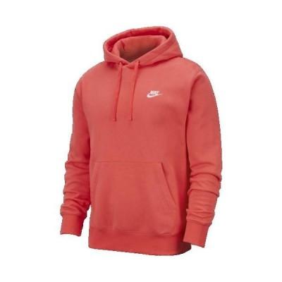 (取寄)ナイキ メンズ パーカー クラブ プルオーバー フーディ Nike Men's Club Pullover Hoodie Ember Glow White