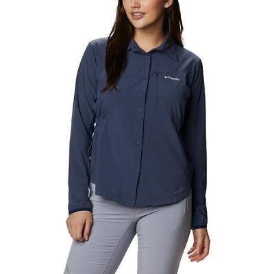 (取寄)コロンビア レディース マザマ トレイル ウーブン ロングスリーブ シャツ Columbia Women's Mazama Trail Woven LS Shirt Nocturnal 送料無料