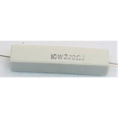 セメント抵抗 10w220Ω 1本