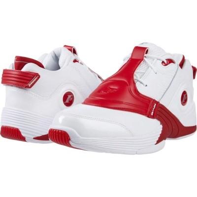 リーボック Reebok Lifestyle メンズ スニーカー シューズ・靴 Answer V White/Red