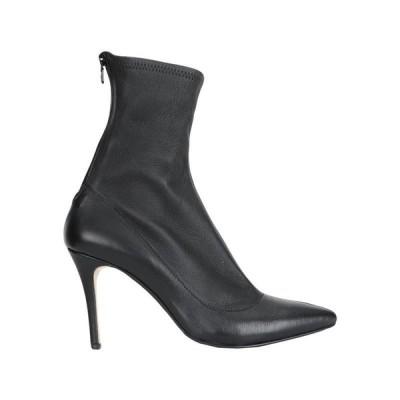 L'ARIANNA ショートブーツ  レディースファッション  レディースシューズ  ブーツ  その他ブーツ ブラック