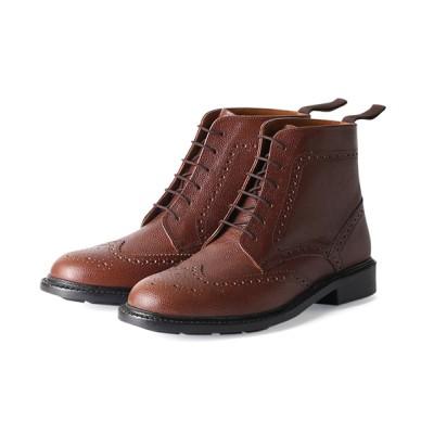 ANDEX shoes product / London Shoe Make Oxford and Derby  / ウィングチップ カントリーブーツ by スコッチグレインレザー ≪グッドイヤーウエルト製法≫ 8017 MEN シューズ > ブーツ