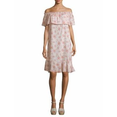 アレックス+アレックス レディース ワンピース Off Shoulder Floral Shift Dress