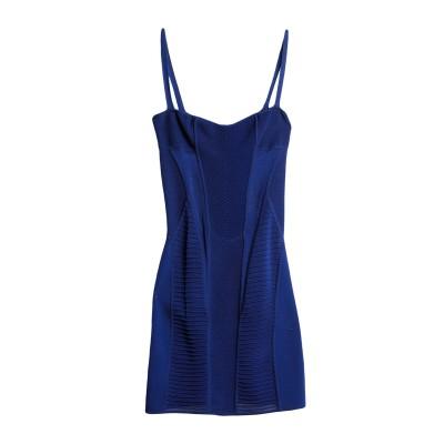 ディースクエアード DSQUARED2 ミニワンピース&ドレス ダークブルー S レーヨン 100% ミニワンピース&ドレス