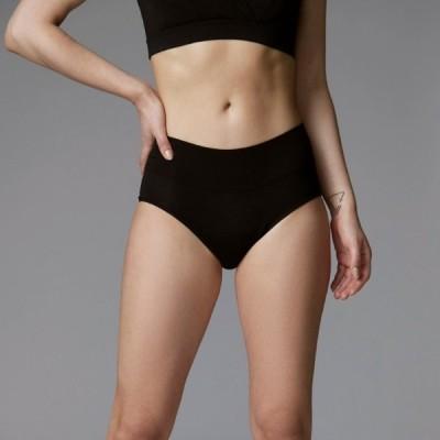 サニタリーショーツ  Bambody ハイウエスト 生理用 ショーツ 下着 普通〜重い日用 オーストラリアから入荷 竹繊維 漏れ防止 尿もれにも