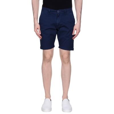 LIU •JO MAN ショートパンツ ブルー 42 98% コットン 2% ポリウレタン ショートパンツ