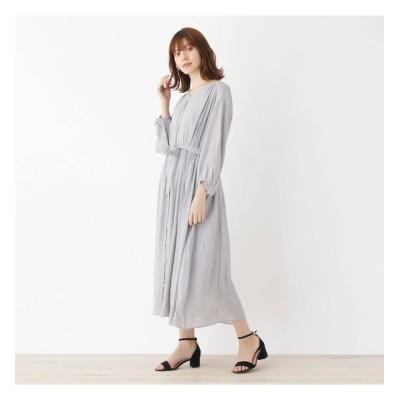 【グローブ/grove】 【LLあり】キャミドレス付きベルテッドシャツワンピース