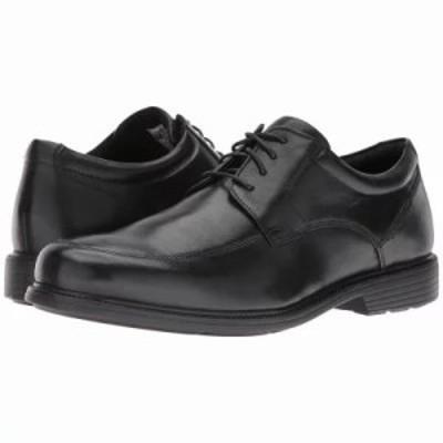 ロックポート 革靴・ビジネスシューズ Charles Road Apron Toe Oxford Black Leather