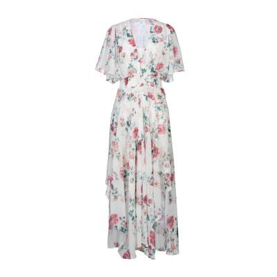 MAJE ロングワンピース&ドレス アイボリー 2 ポリエステル 100% ロングワンピース&ドレス