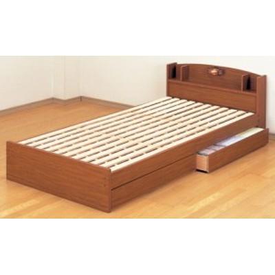 日本製 宮・引き出し付きすのこベッド || 寝具