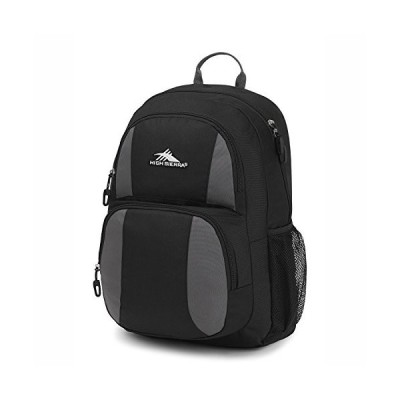 High Sierra Pinova Backpack Black/Slate Grey並行輸入品