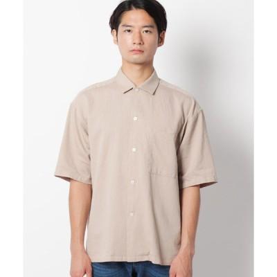 THE SHOP TK(Men)(ザ ショップ ティーケー(メンズ))コットン麻シャツ