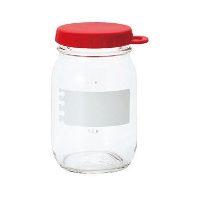 アデリア ガラス 保存容器 レッドペッパー 475ml e‐キャップジャー 日本製 1664