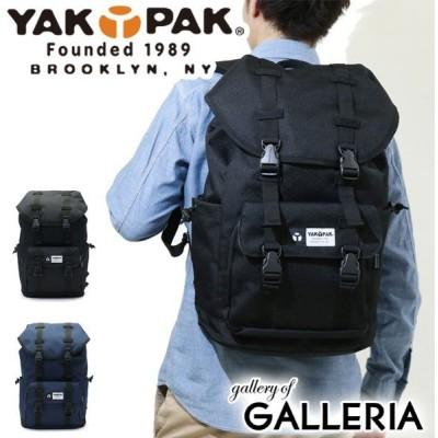 最大19%獲得 ヤックパック リュック YAKPAK バックパック リュックサック FLAP BACKPACK フラップバックパック 25L 通学 8125310-F メンズ レディース