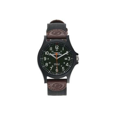 タイメックス 腕時計 アクセサリー メンズ Expedition Acadia Date 40mm Fabric Strap Watch Black