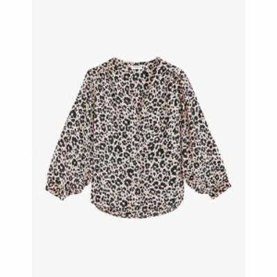クローディ ピエルロ CLAUDIE PIERLOT レディース ブラウス・シャツ トップス Berlioz floral-print crepe blouse LIGHT PRINT
