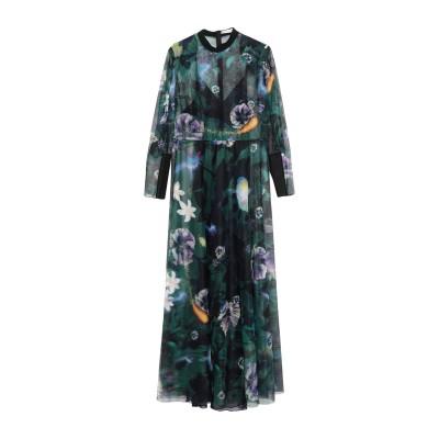メアリー・カトランズ MARY KATRANTZOU ロングワンピース&ドレス グリーン 14 ポリエチレン 100% / ナイロン / シルク ロ
