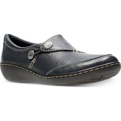 クラークス Clarks レディース スリッポン・フラット シューズ・靴 Collection Ashland Lane Flats Navy