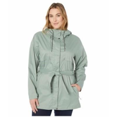 コロンビア レディース コート アウター Plus Size Pardon My Trench¢ Rain Jacket Light Lichen