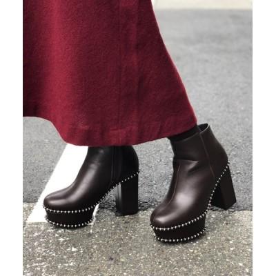 Noubel Voug Relax / 厚底ショートブーツ WOMEN シューズ > ブーツ