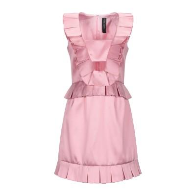 NORA BARTH ミニワンピース&ドレス パステルピンク 40 ポリエステル 85% / シルク 15% ミニワンピース&ドレス