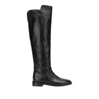 8 by YOOX ブーツ ブラック 35 牛革(カーフ) 100% ブーツ
