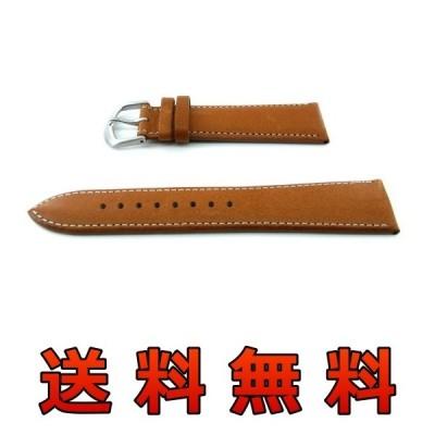 ビーバレル 腕時計用 レザーベルト 22mm ブラウン