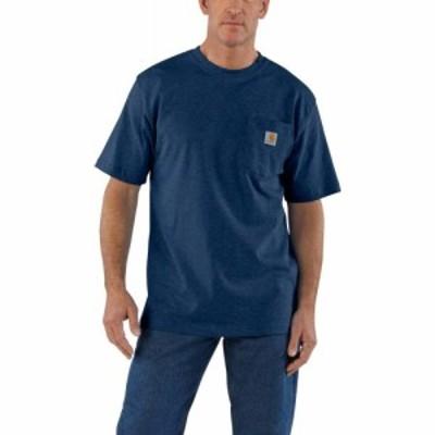 カーハート Carhartt メンズ Tシャツ 大きいサイズ ポケット トップス k87bt workwear pocket t-shirt - short sleeve big and tall Dark