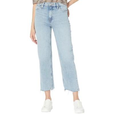 ユニセックス パンツ Remi High-Rise Crop Straight Jeans in Sure Thing