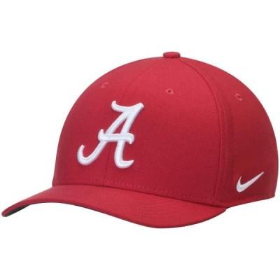 ユニセックス スポーツリーグ アメリカ大学スポーツ Alabama Crimson Tide Nike Swoosh Performance Flex Hat - Crimson 帽子