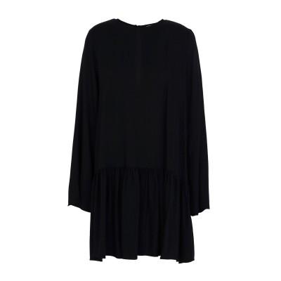 TWIST & TANGO ミニワンピース&ドレス ブラック 34 レーヨン 100% ミニワンピース&ドレス