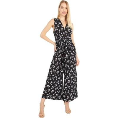 ケイト スペード Kate Spade New York レディース オールインワン ジャンプスーツ ワンピース・ドレス Dandelion Floral Jumpsuit Black