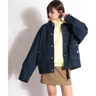 ジャケット Gジャン 【VISION STREET WEAR】長袖カラーGジャン デニムジャケット
