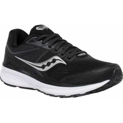 サッカニー レディース スニーカー シューズ Women's Saucony Omni 19 Running Sneaker Black/White