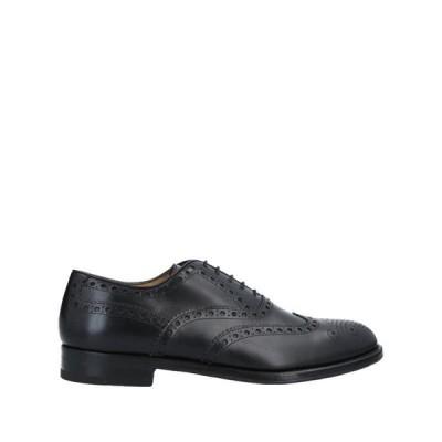 ANTONIO MAURIZI メンズ レースアップシューズ 靴 ブラック