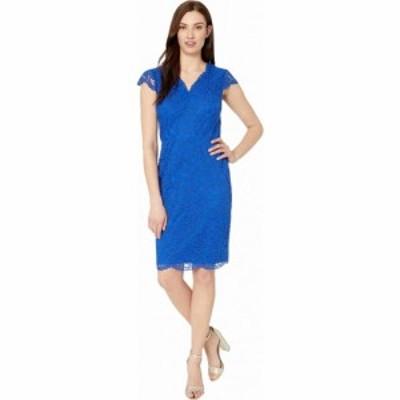 ラルフ ローレン LAUREN Ralph Lauren レディース ワンピース ワンピース・ドレス Bambina Cap Sleeve Day Dress Regal Sapphire